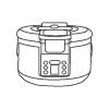 16L自動タピオカミルクティー製造鍋