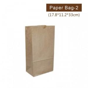 GA178112330001【クラフト紙袋-2カップ用】サイズ - 178*112*330mm - 1箱1000個