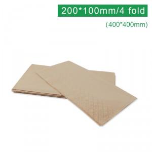 FF404002【紙ナプキン-クラフト 400*400㎜】1箱-2000枚