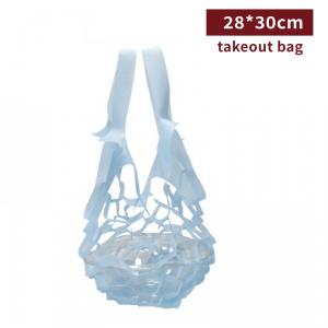 FF0066【テイクアウト用手提げ-不織布(水色)】 お弁当 - 1箱2000個/1袋100個
